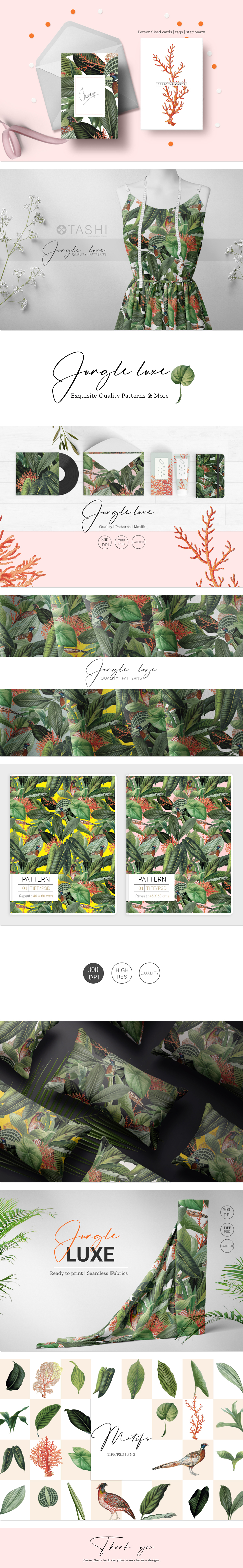 Luxurious Tropical Pattern