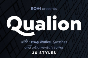 Qualion™ Type Family