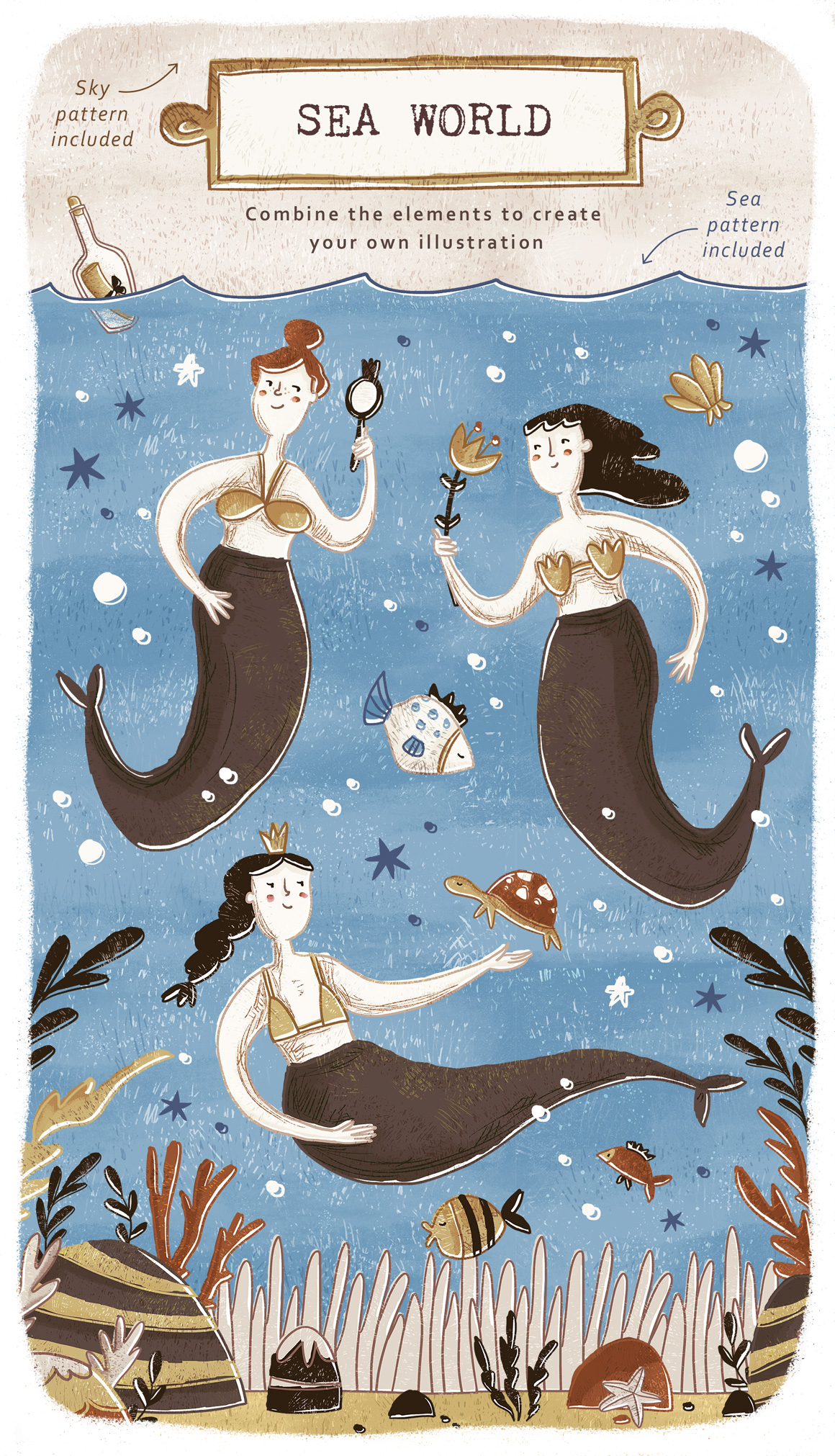 Under The Sea Collection - Mermaids