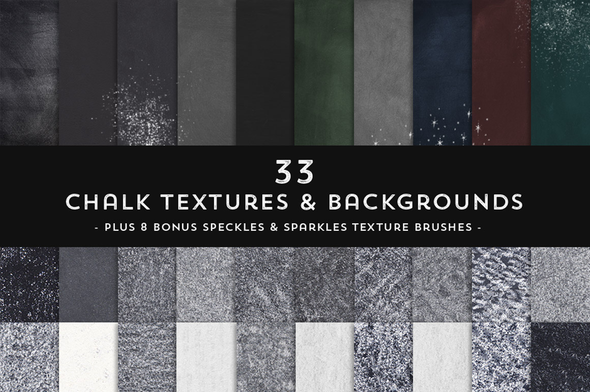 33 Chalk Textures and Backgrounds