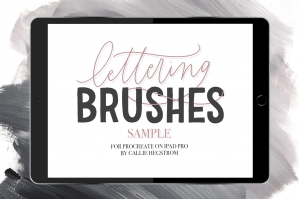 Free: 12 iPad Brushes For Procreate Sample