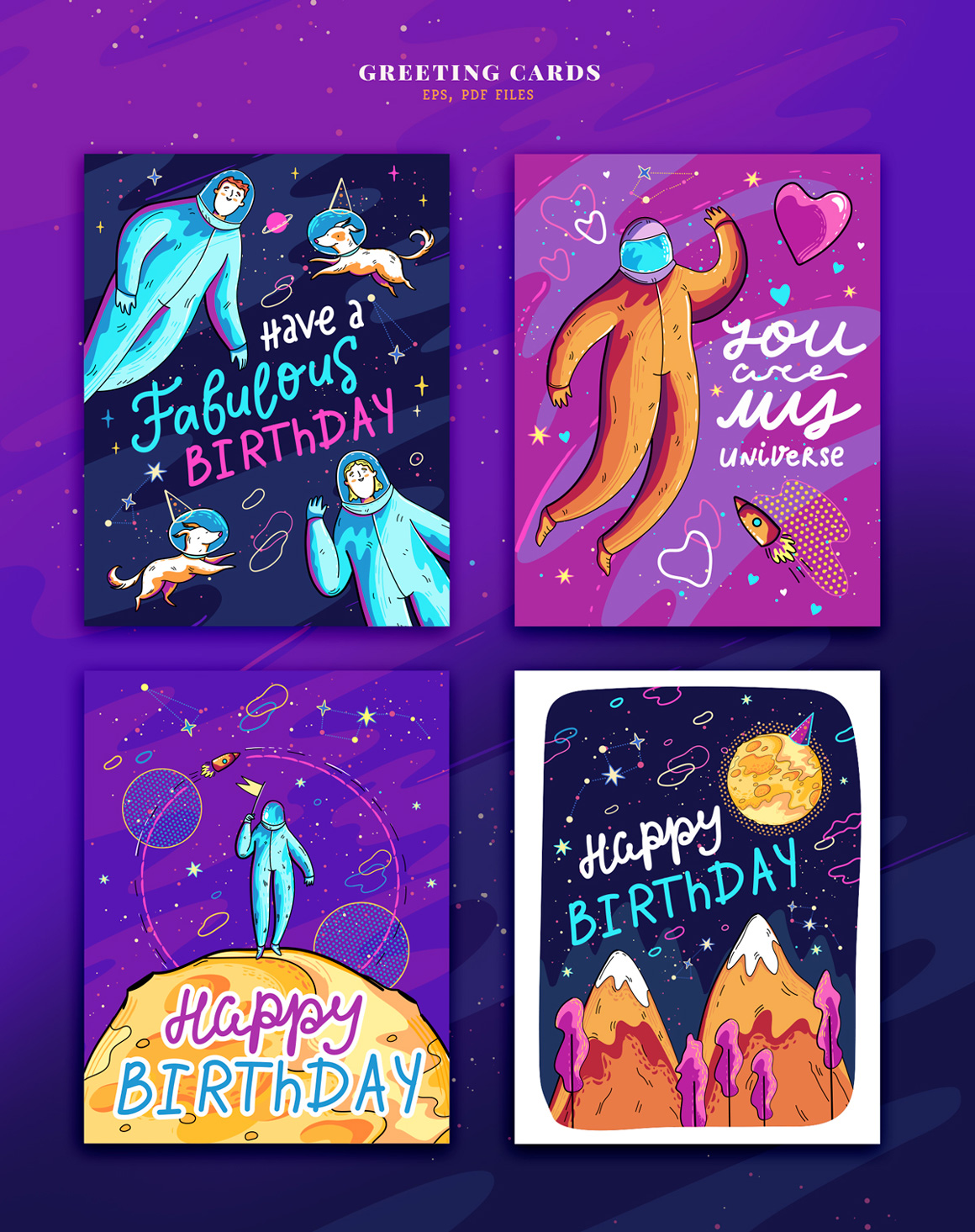 Colorful Space Collection