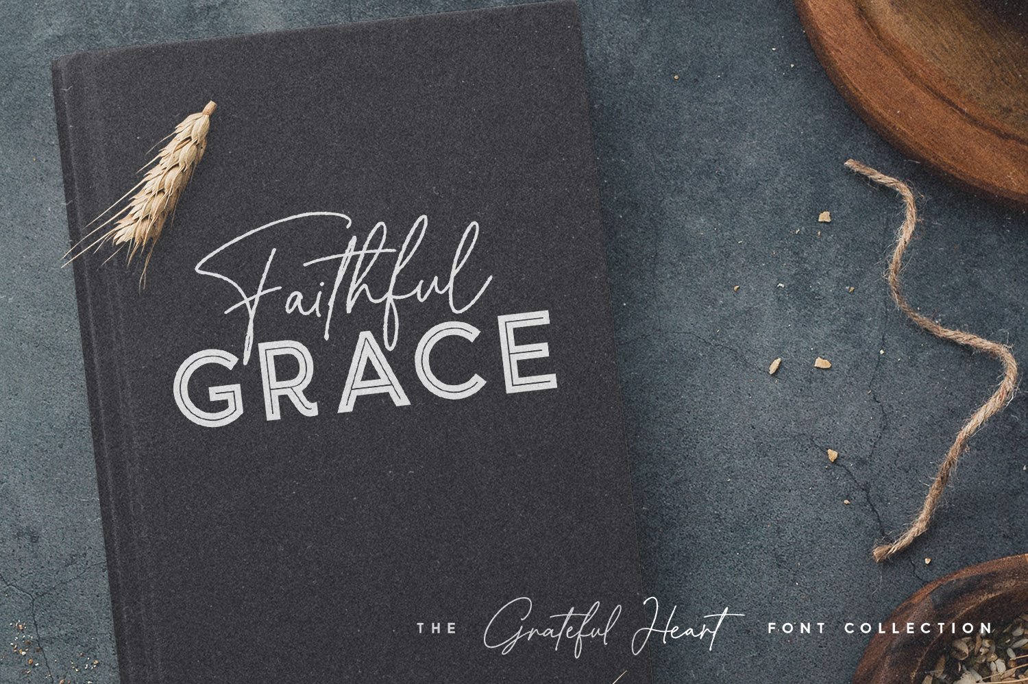 Greatful Heart Font Collection