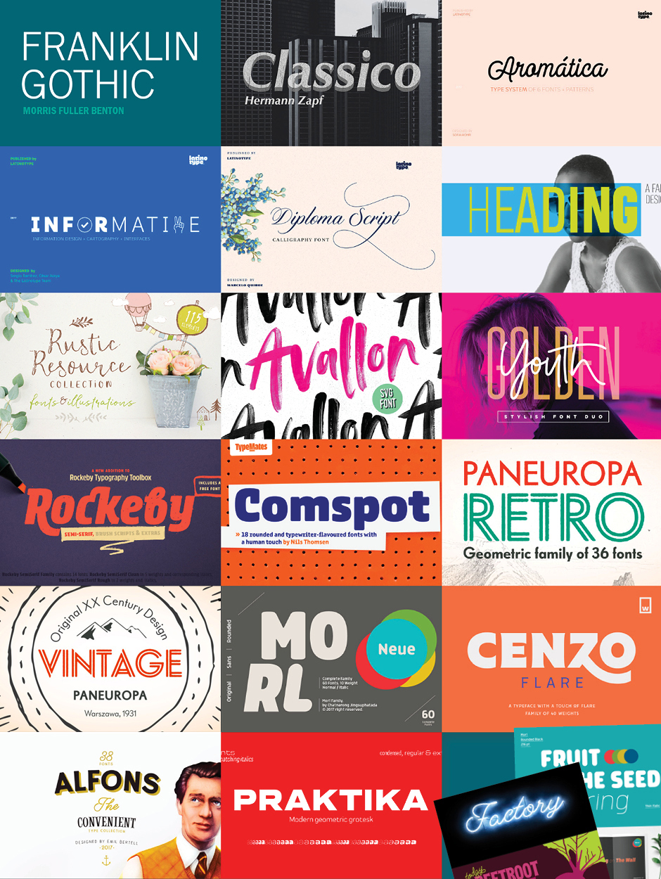 The Definitive Type Lover's Collection Bundle