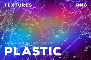 288 Plastic Overlays, Shapes & Textures