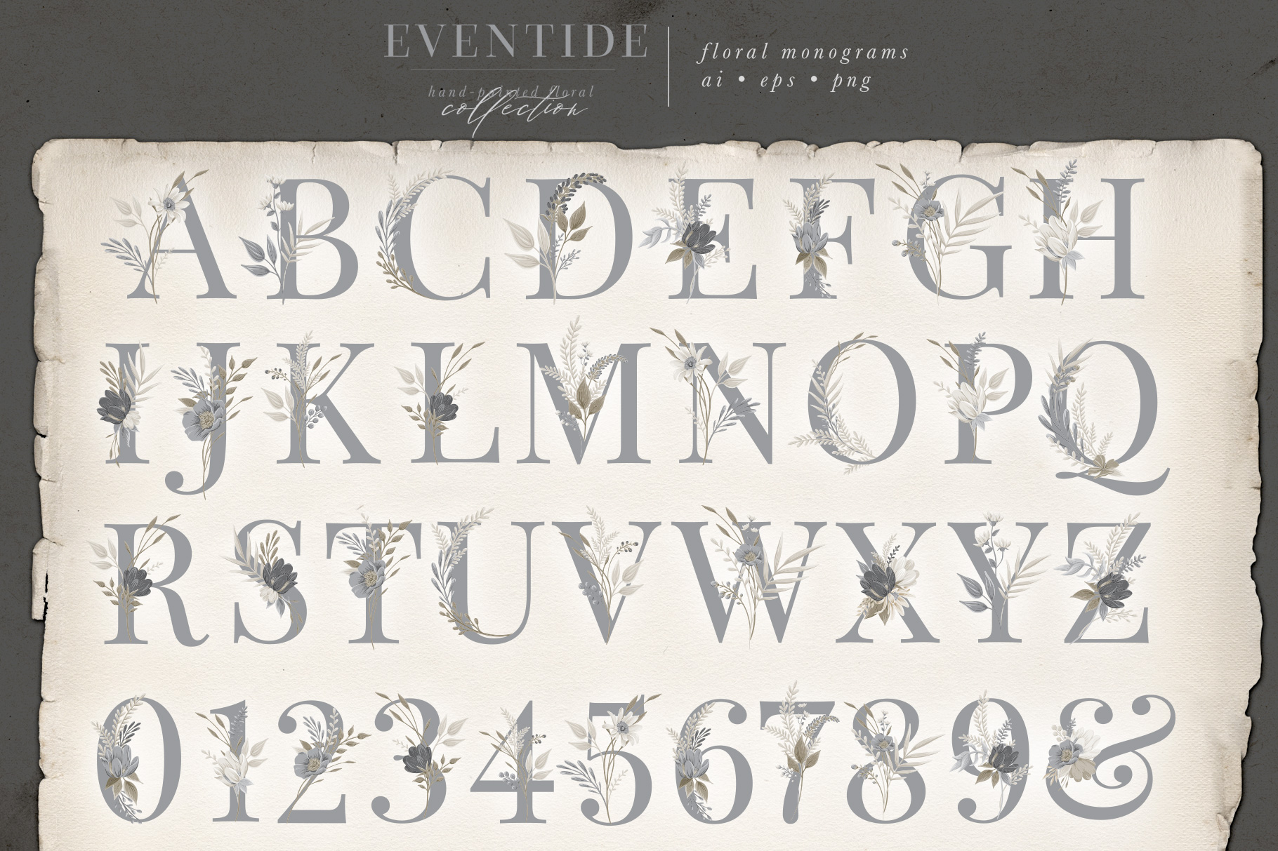 Eventide - Hand-painted Floral Collection