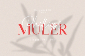 Phillips Muler Elegant Font Duo