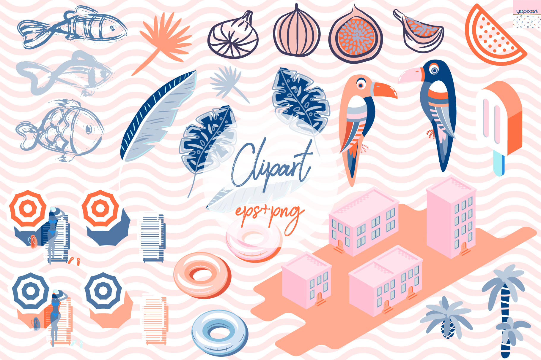 Summer Vibes - Graphics & Patterns
