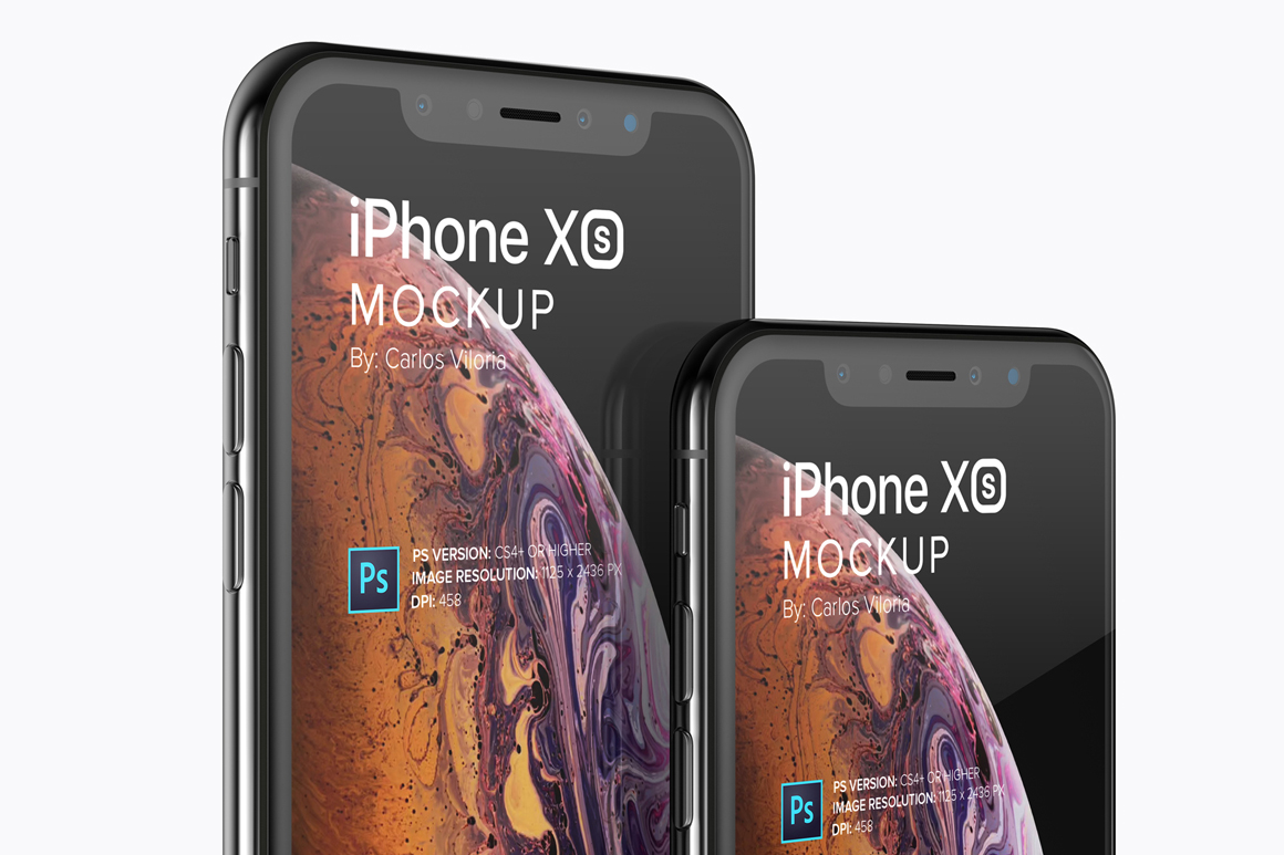iPhone XS Mockups Collection