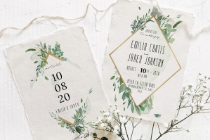 Gold & Greenery Wedding Suite