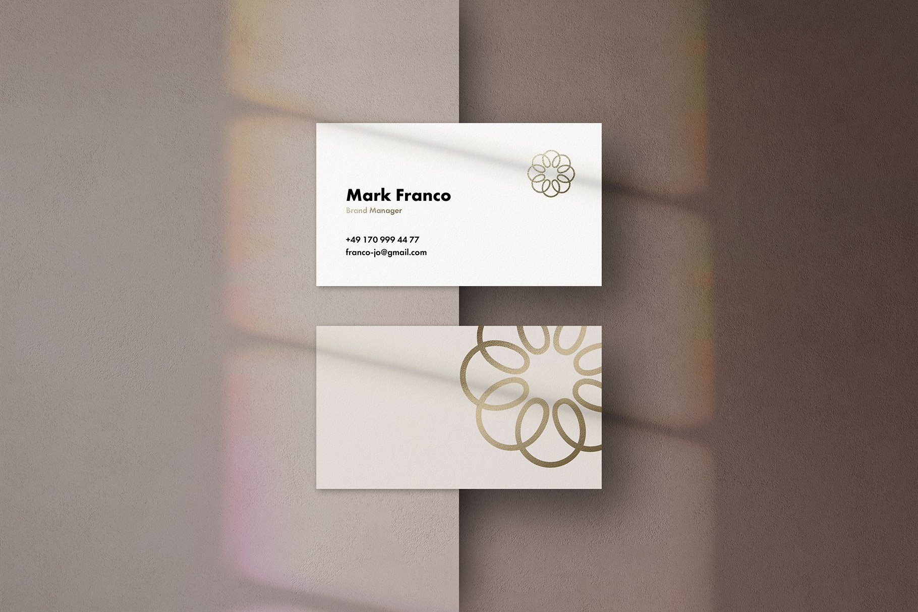 Mote Business Card Mockups