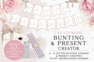 The Stunning Bunting And Present Creator