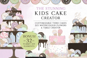 The Stunning Kids Cake Creator