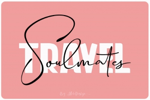 Travel Soulmates - Font Duo