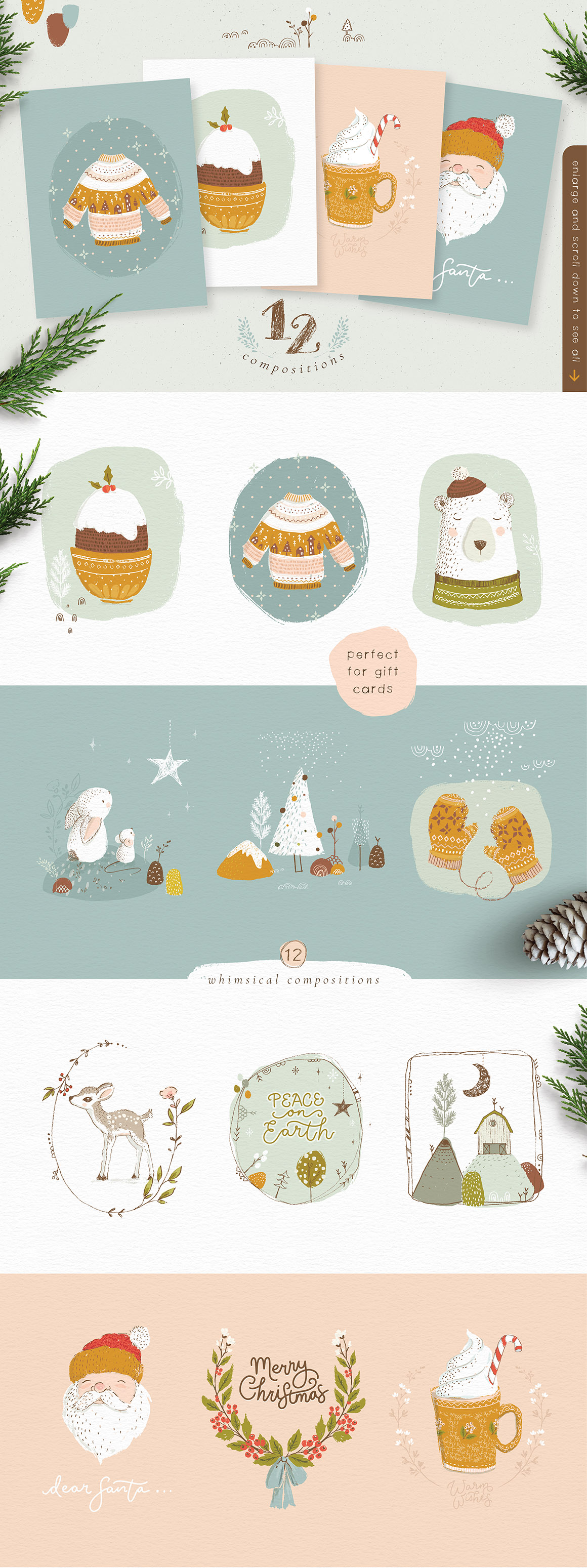 The Rustic Christmas Collection