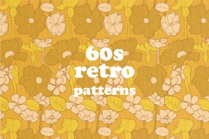 60s Retro Pattern Prints