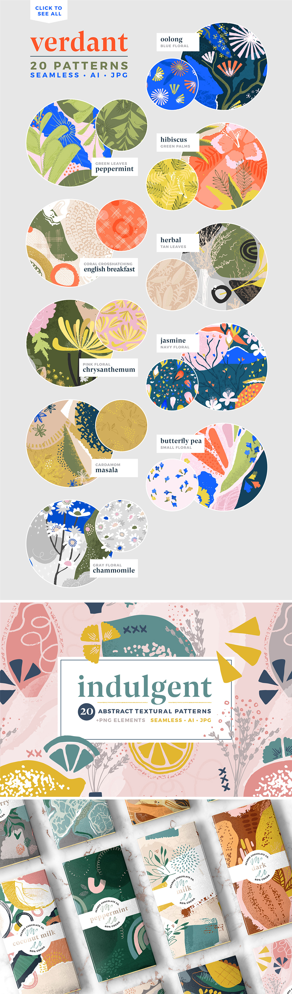 Artistic Pattern Collection