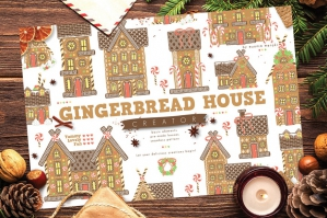 Christmas Gingerbread House Creator