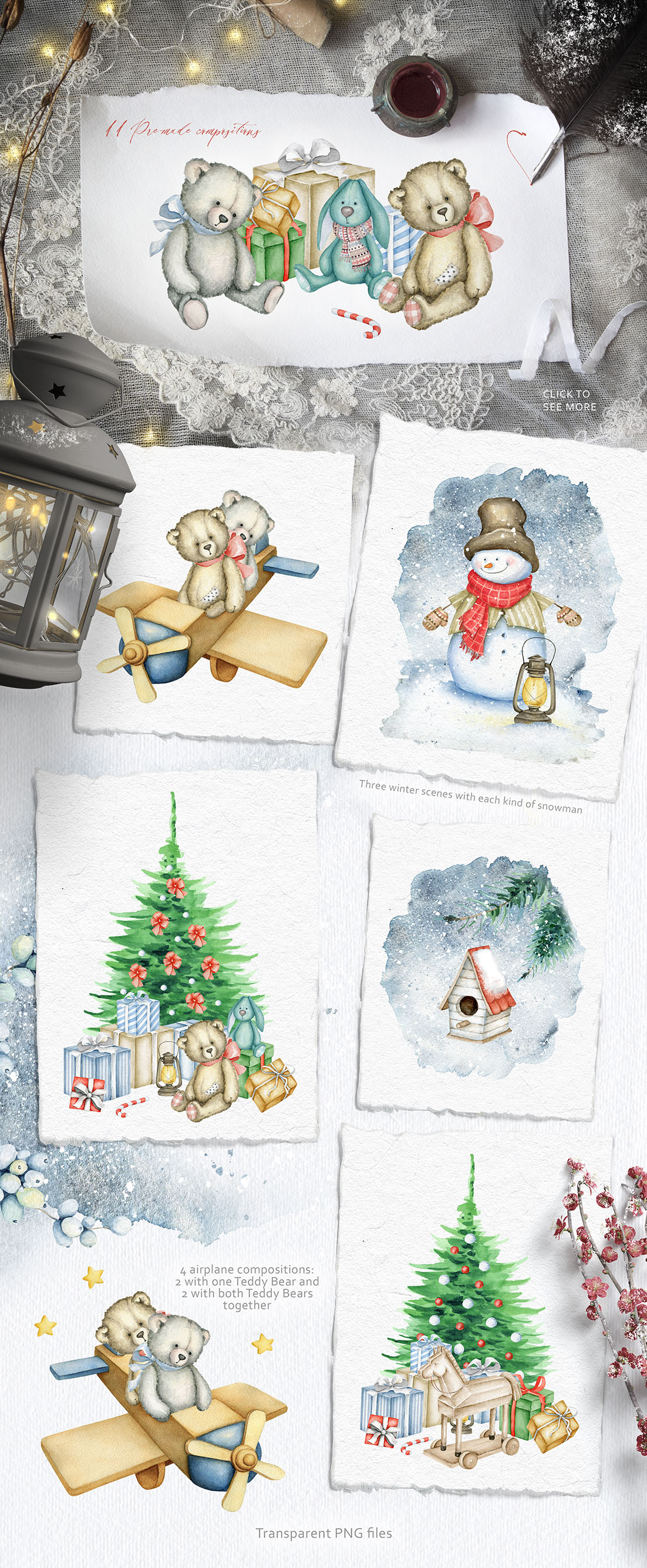 Christmas Miracle Watercolours