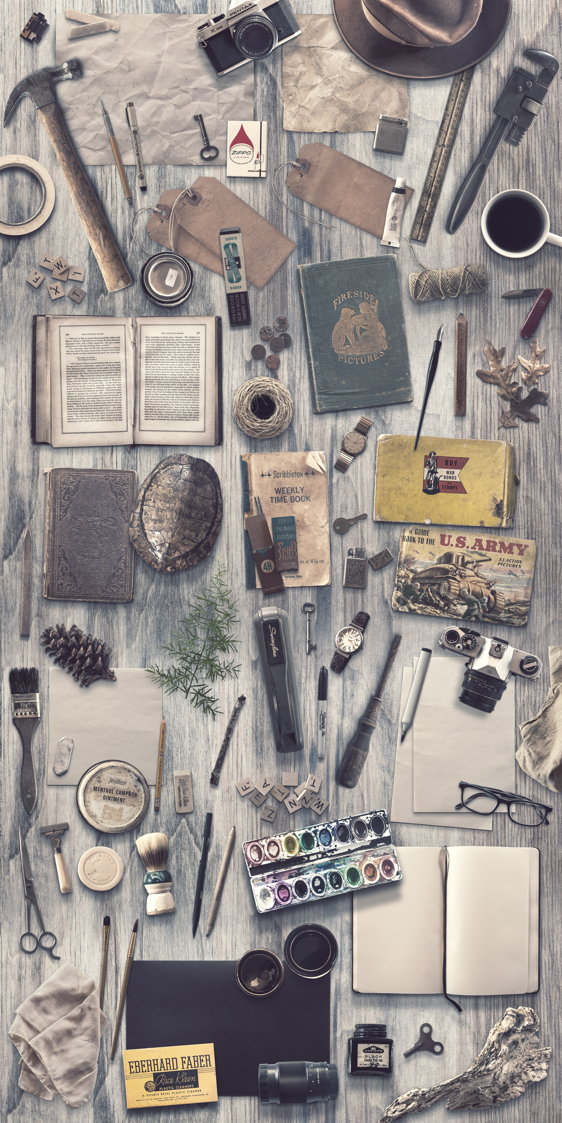 The Essential, Eclectic Vintage Toolkit