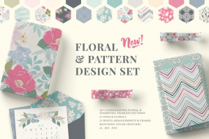 Floral & Pattern Design Set