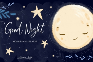 Good Night - Kids Design Creator