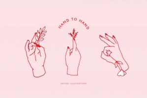 Hand to Hand Illustrations