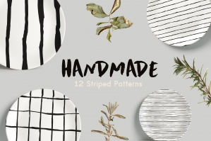Handmade Striped Patterns