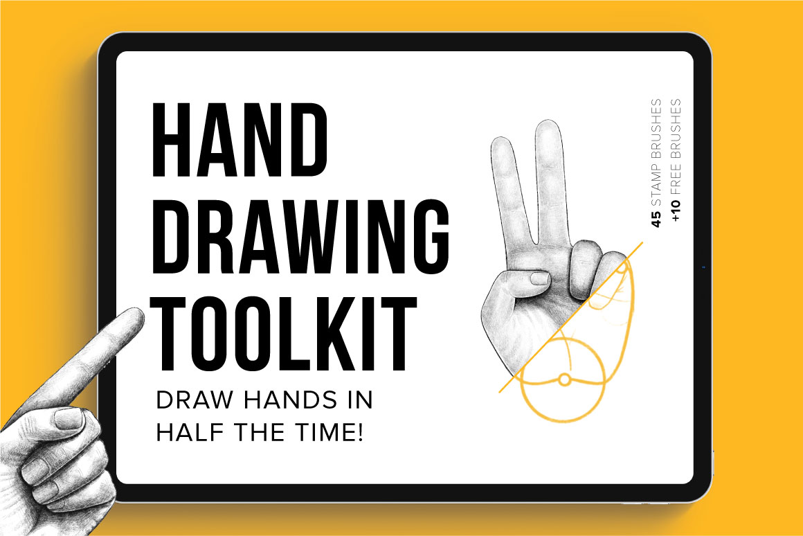 Hand Drawing Toolkit for Procreate