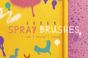Urban Spray Brushes