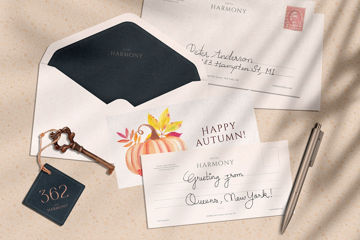 Rich Harvest - Luxury Fall Collection