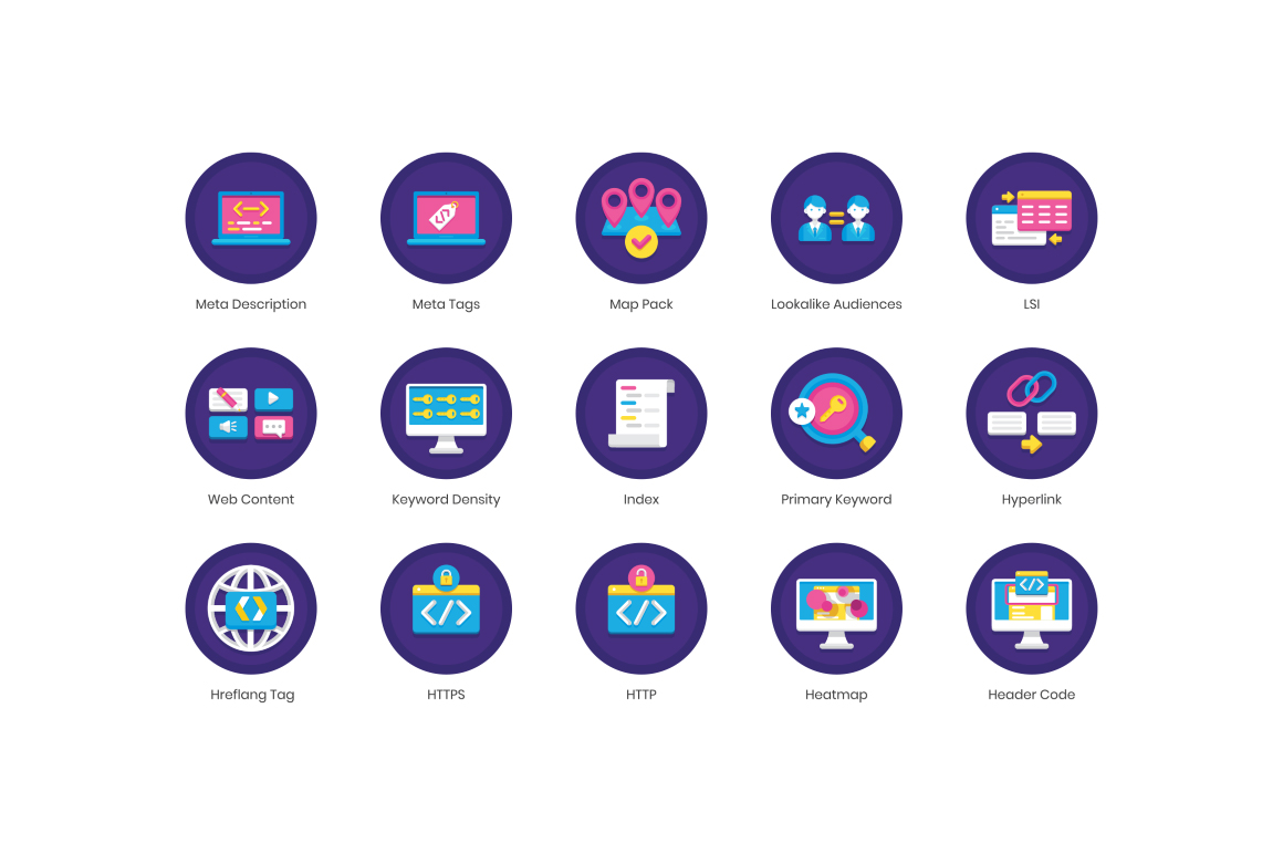 85 Internet Marketing Icons