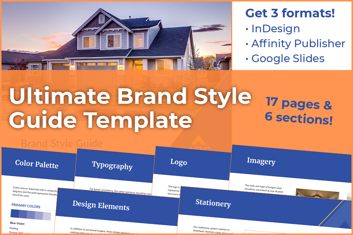 Brand Style Guide Template - Ultimate Version