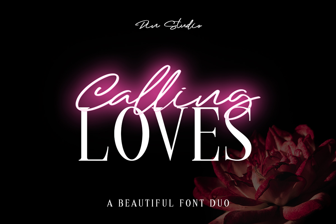 Calling Loves - Font Duo