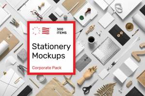 Corporate Stationery Mockup Pack
