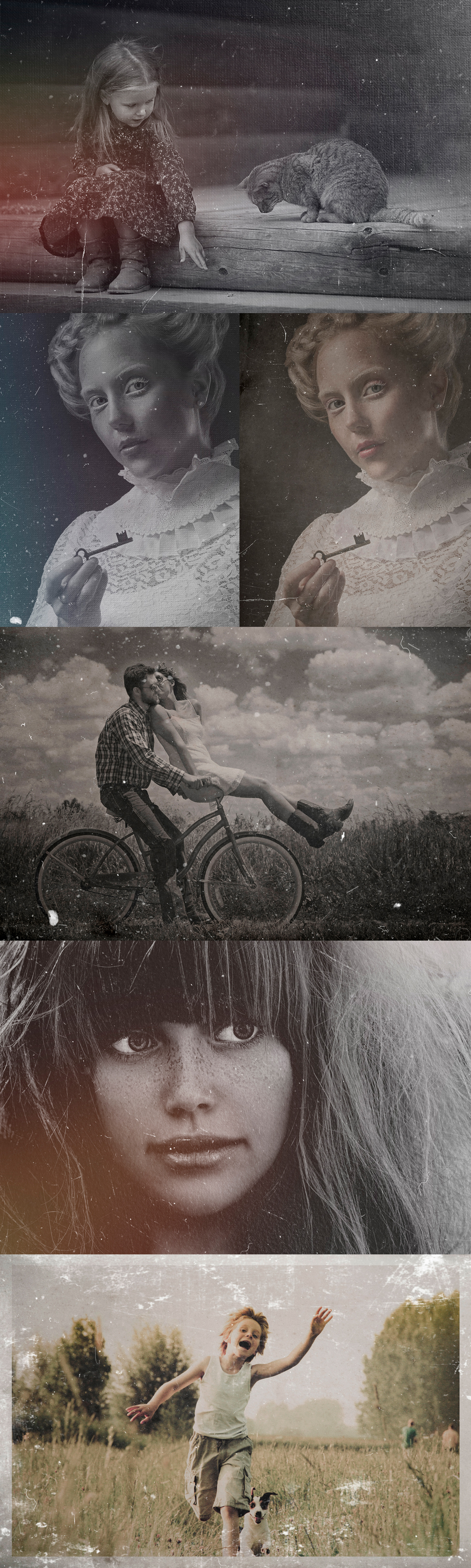 Dust And Scratches Film Effect