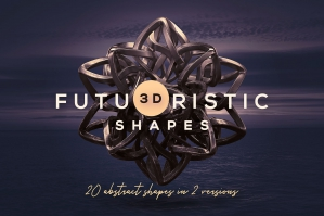 Futuristic 3D Shapes