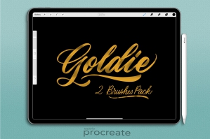 Goldie Procreate Brush Set