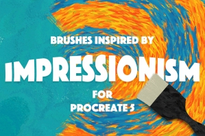 Impressionism Procreate 5 Brushes