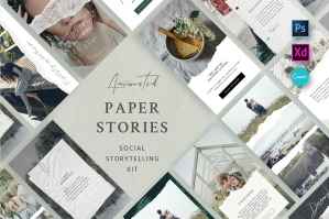Paper Animated Stories - Social Kit