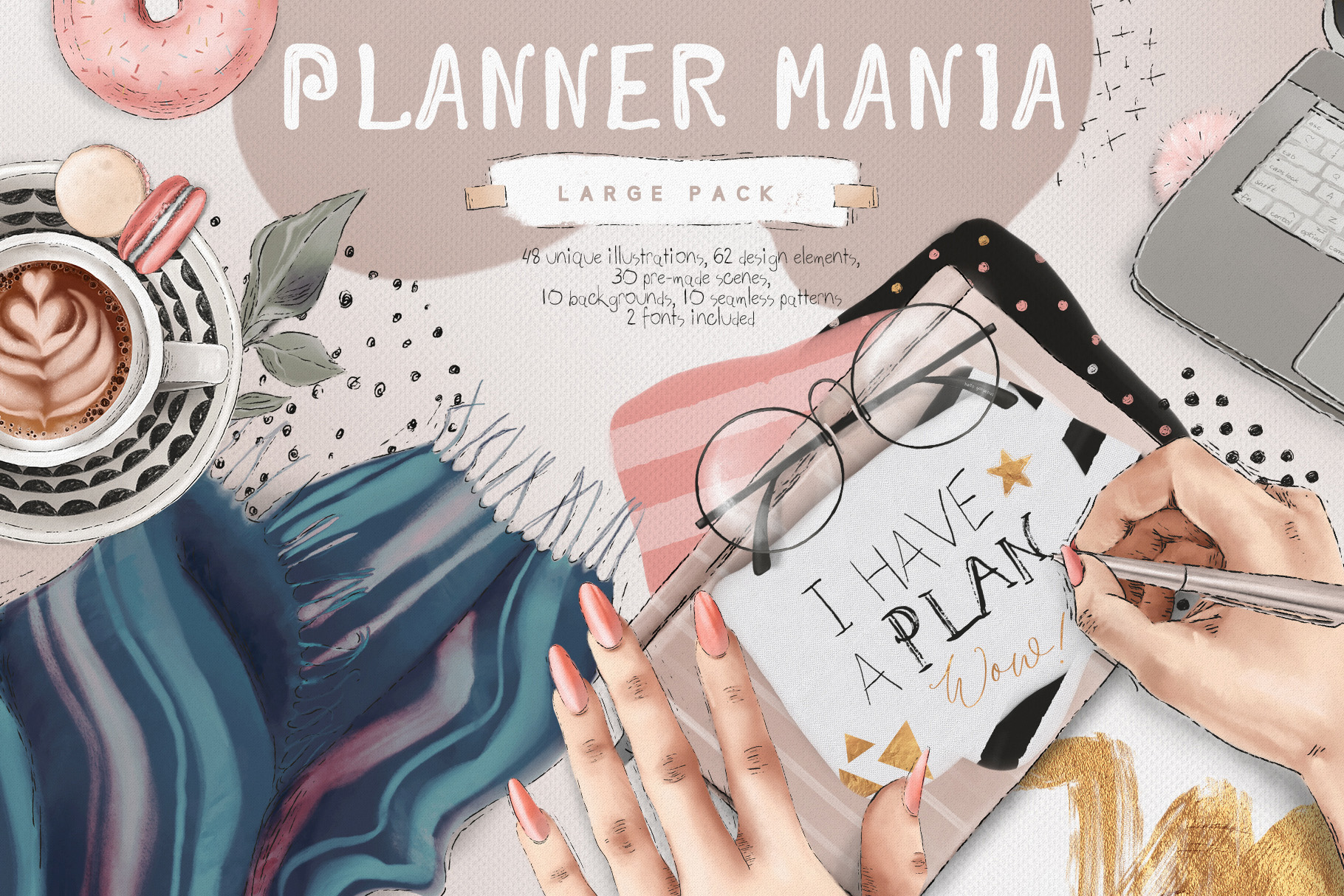 Planner Mania Large Pack