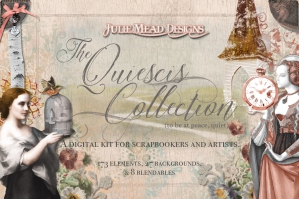Quiescis Collection Digital Scrapbook Kit