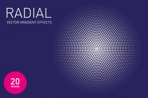 Radial Vector Gradient Effects