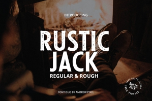 Free: Rustic Jack - A Vintage Font Duo