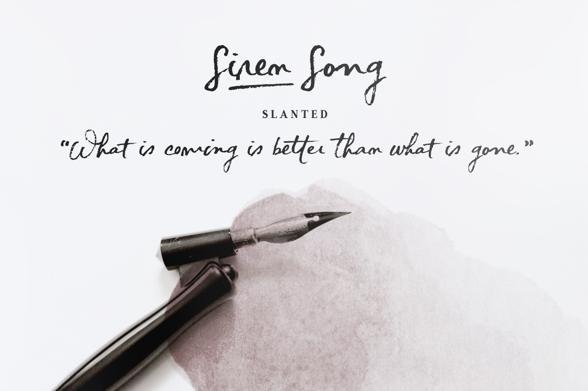 Siren Song Font and Texture Pack