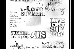 Summer WordART No. 2