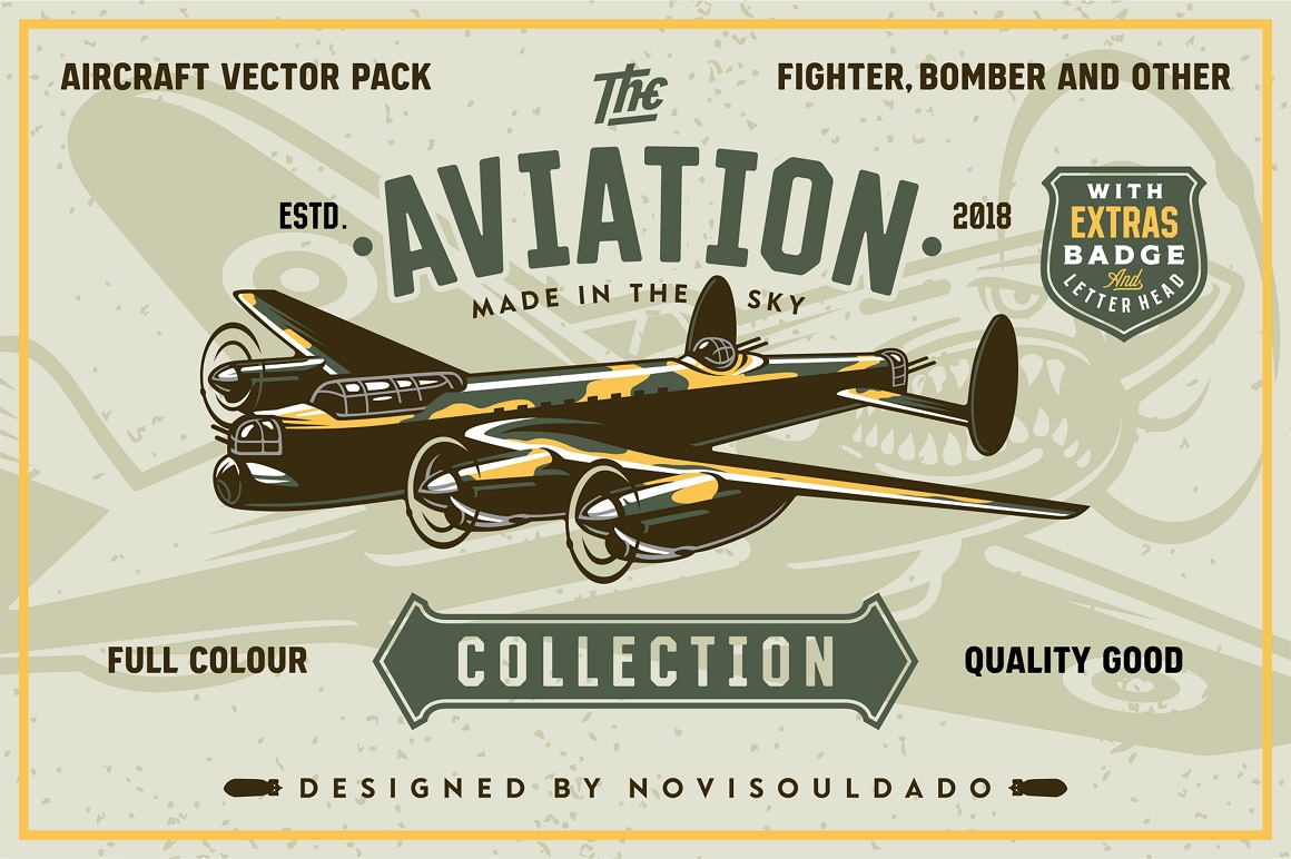 The Aviation Vector Pack