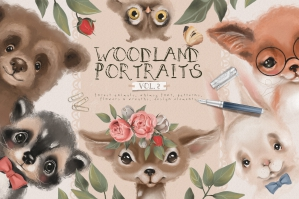 Woodland Portraits Vol.2