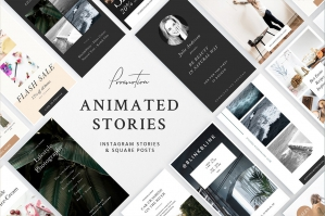 Animated Stories Templates