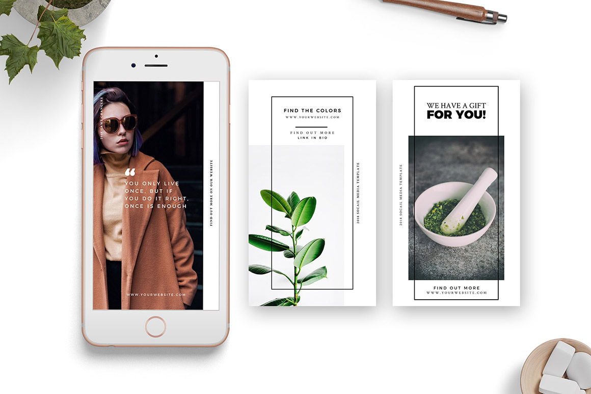 Animated Templates for Instagram